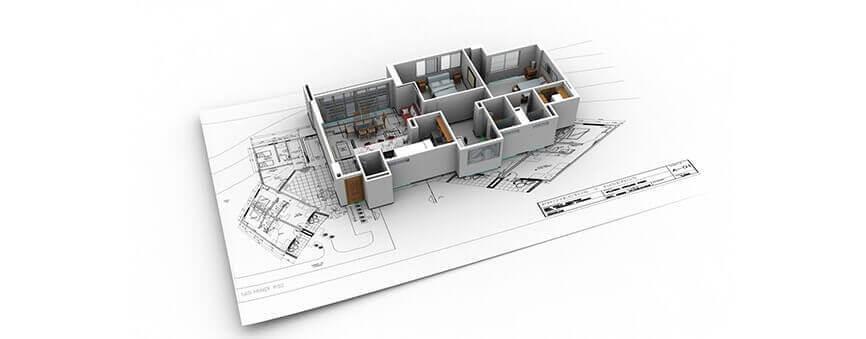 organización y estructuración de planos de arquitectura